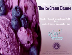 Ice Cream Cleanse Invite